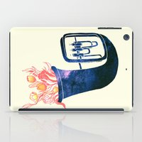 trumpet iPad Cases featuring Natural Trumpet by Calvin Wu