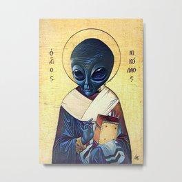 St. Alien Metal Print