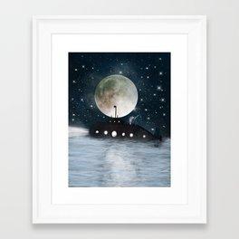 the astrologer Framed Art Print