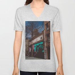 East Village Artist Unisex V-Neck