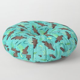 Platypus River Floor Pillow