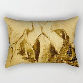 The prayer - Beautiful seppia woman hands Rectangular Pillow