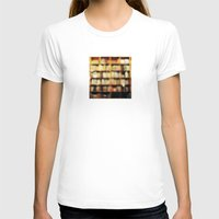 bokeh T-shirts featuring Book Bokeh by Kevin Russ