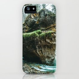 Johnston Canyon Lower Falls Banff National Park Canada Ultra HD iPhone Case
