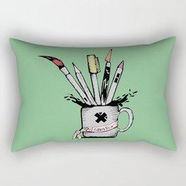 Ink cup Rectangular Pillow