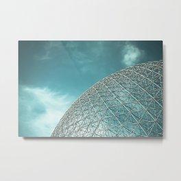 Biosphère Metal Print