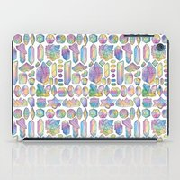 minerals iPad Cases featuring Rainbow Minerals by Ouvra