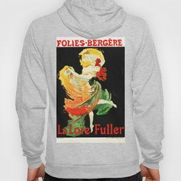VintageFrench Musical poster Hoody