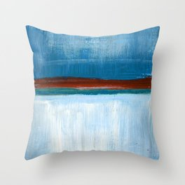 March Abstract Six Throw Pillow