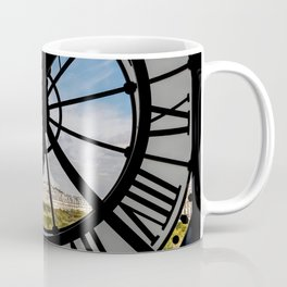 Giant glass clock at the Musée d'Orsay - Paris Coffee Mug
