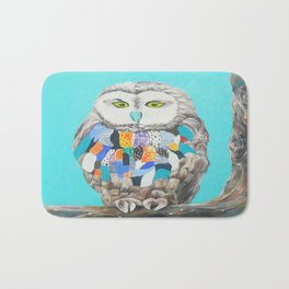 Imaginary owl Bath Mat