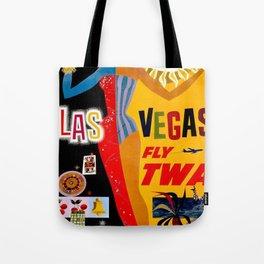 Lady Las Vegas Tote Bag