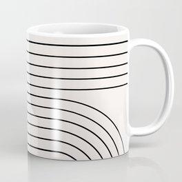 Minimal Line Curvature I Coffee Mug