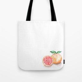 Watercolour Grapefruit Tote Bag