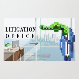 Litigation Office Rug