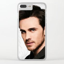 Colin o Donoghue Clear iPhone Case