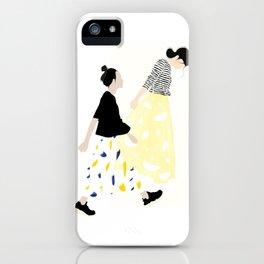 Japanese mood iPhone Case