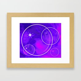 Bubble Madness two Framed Art Print