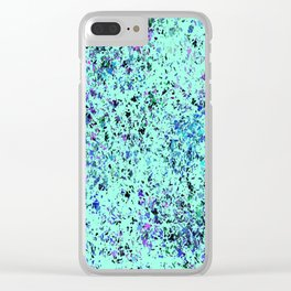 """Formica""  Digital Design in  Mint Clear iPhone Case"