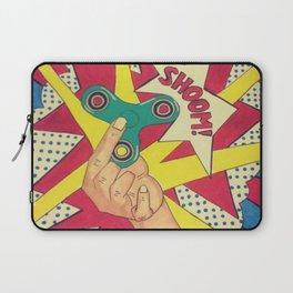 Lichtenstein Fidget Spinner Laptop Sleeve