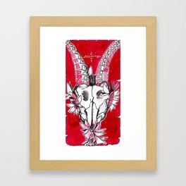 "#13 tarot card ""teeming"" Framed Art Print"