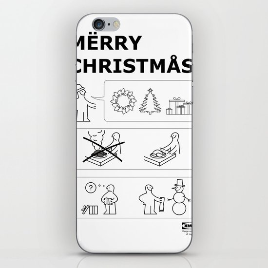 How To Have A Merry Christmas iPhone & iPod Skin