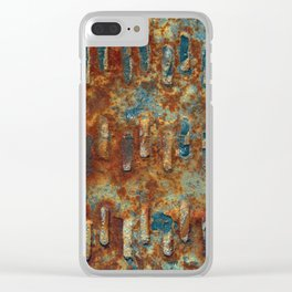 Rust Clear iPhone Case