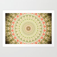 carnival Art Prints featuring Carnival by Jane Lacey Smith