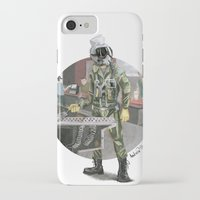 pilot iPhone & iPod Cases featuring Pilot by Kalegiro