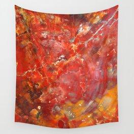Sunset Splatter Stones Wall Tapestry