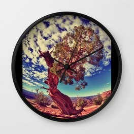 """Finding Sky"" Wall Clock"