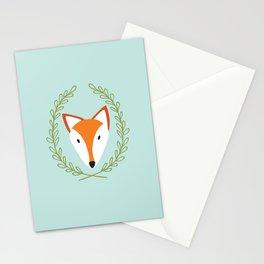 f o x Stationery Cards