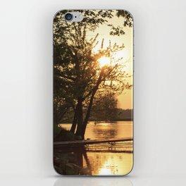 Sunset Dock iPhone Skin