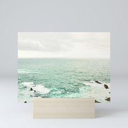 Atlantic Ocean views from the Kerry Cliffs Mini Art Print