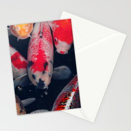 Don't be Koi Stationery Cards