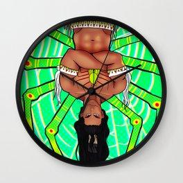 Spider Trickster Wall Clock
