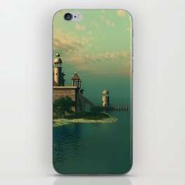 Mystic Fantasy Island iPhone Skin