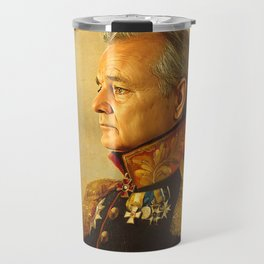 Bill Murray - replaceface Travel Mug