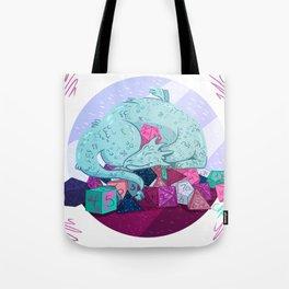Dragon dice hoarder Tote Bag