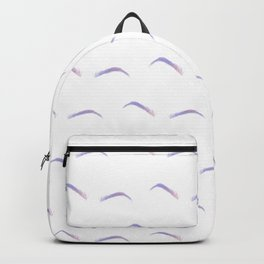 Unicorn Eyebrows Backpack