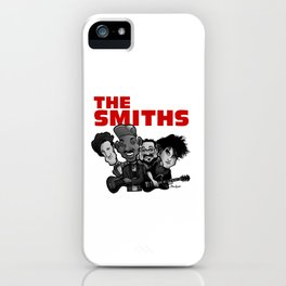 The Smiths (white version) iPhone Case