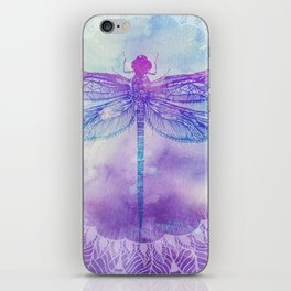 Mandala Dragonfly iPhone Skin