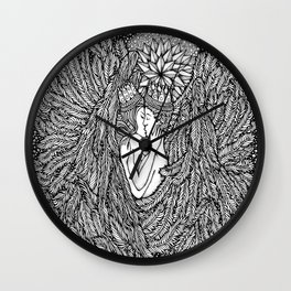 Love Angles by Kent Chua Wall Clock