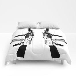 BLACK AK 47 Comforters