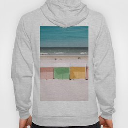 Beach Cabins North Sea Hoody