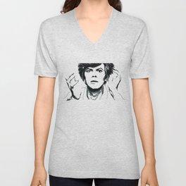 David Bowie Unisex V-Neck