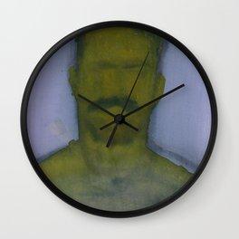 Yellow Face Wall Clock