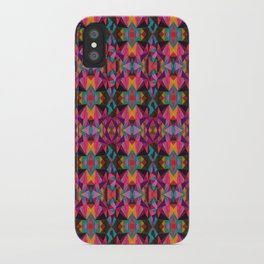 Geometric Fun iPhone Case