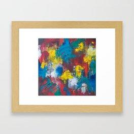Meditative Reality Framed Art Print