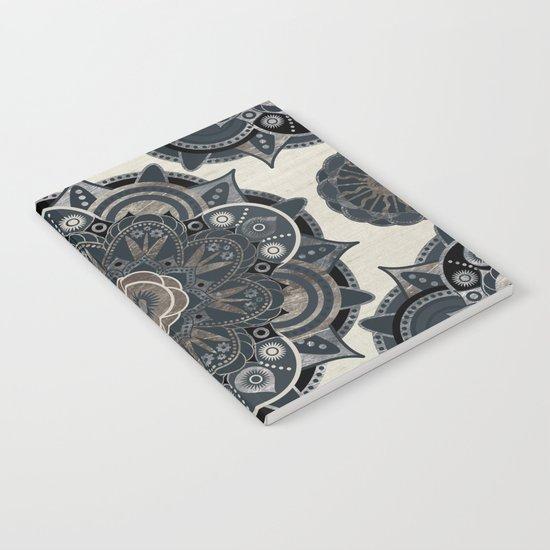 Silver Mandala Notebook
